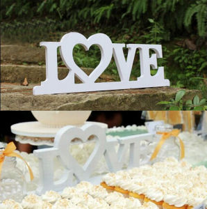 PVC Love Letters Home Decoration Sign with Coat and Hat Hook pictures & photos