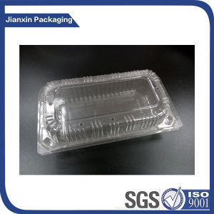 Disposable Clear Plastic Packaging Tray with Lid pictures & photos