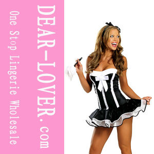 2016 Wholesale Cheap French Maid Costume pictures & photos