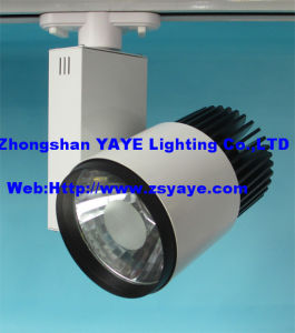 Yaye COB 20W LED Track Light/COB 20W LED Track Lamp/ 20W COB Track LED Light pictures & photos