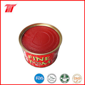 Organic Fine Tom Brand Canned Tomato Paste of High Quality pictures & photos