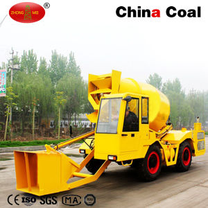 1cbd Self Propelled Mobile Concrete Mixing Truck Plant pictures & photos