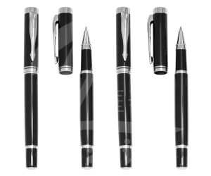 Senior Design Black Metal Roller Pen for Gift pictures & photos