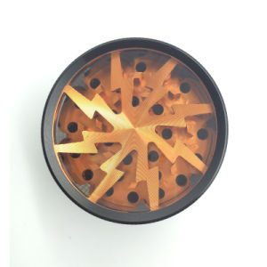 Fashion Style Cool Lightning Herbal Grinder for Smoking Cigarette (ES-GD-008) pictures & photos