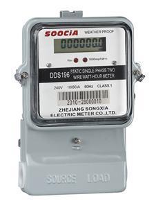 Single Phase Digital LCD Display Energy Electric Meter
