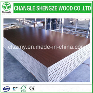 14mm Wooden Grain Melamined Particle Board /Flakeboard /Chipboard pictures & photos