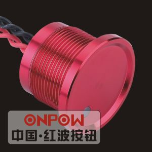 Onpow 22mm Piezo Switch with DOT Light (PS223Z10YSS1R12D, CE, RoHS) pictures & photos
