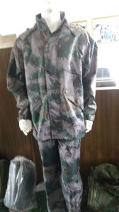PVC Polyester Fabric Camouflage Waterproof pictures & photos