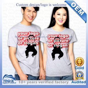 Custom Lovers T-Shirts Printed with Personalized Designs