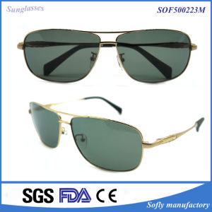 Fashion Sunglasses Acrylic Lenses Material Sun Glasses Metal Brand Sunglasses pictures & photos