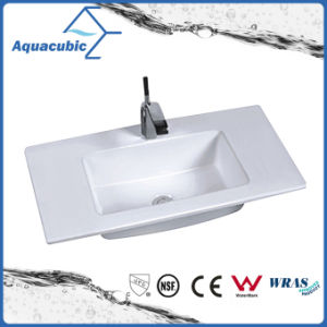 One Piece Bathroom Basin and Countertop Sink (ACB7350) pictures & photos