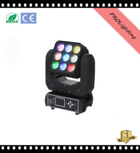 Prolighting 9PCS 12W LED Matrix Moving Head Light
