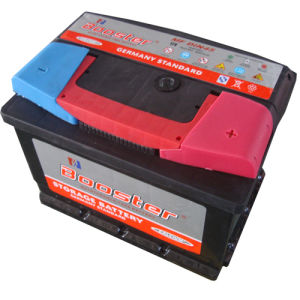 Mf DIN45 12V45ah Germany Standard Red Handle Maintenance Free Car Battery pictures & photos
