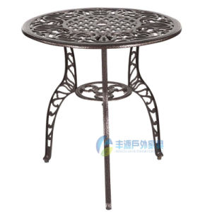 Outdoor Cast Aluminum Leisure Tables (FY-005ZXT)