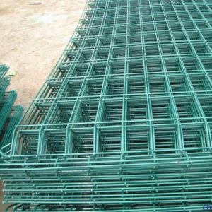 PVC/Powder Coated Welded Wire Mesh Fence Factory Price pictures & photos