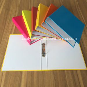 Assorted Color A4 2 Ring Binder Paper File Folders pictures & photos