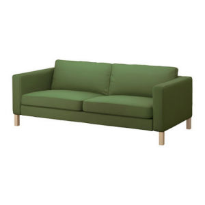 Ikea Europe Style Modern I Shape Fabric Sofa (1603#) pictures & photos