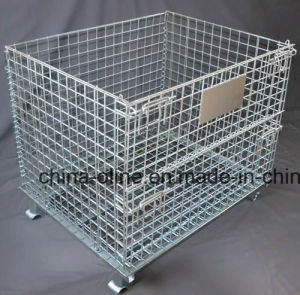 Steel Storage Wire Mesh Container (800*600*640) pictures & photos