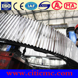 Forged Alloyed Steel Rotary Kiln Girth Gear pictures & photos
