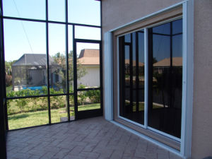 Aluminium Sliding Balcony Door pictures & photos
