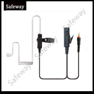 2 Wire Surveillance Kit Earpiece for Motorola Clp446 pictures & photos