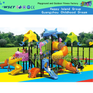 Outdoor Playground Set Sea Jinn School Outdoor Playground (HD-2401) pictures & photos