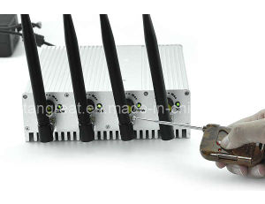 Adjustable Cell Phone Jammer with Remote Control (TG-101B-PRO) pictures & photos