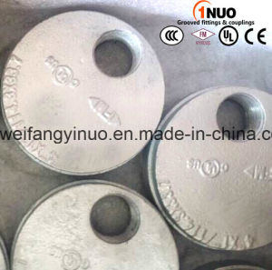 FM Approved Hot Galvanized Grooved Cap with Eccentric Hole pictures & photos