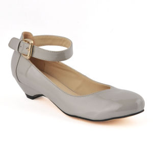 2015 Fashion Pointed Toe Casual Women Low Heel Dress Shoes (HCY02-1751