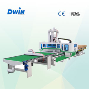 Full Automatic CNC Router Furniture Production Line (DW1325) pictures & photos