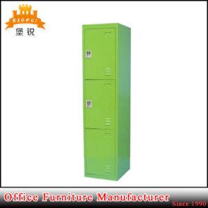 Modern Design 3 Door Clothes Lock Box Metal Clothing Furniture School Steel Lockers pictures & photos