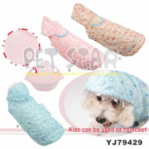 Water-Proof Fabric Dog Coat with Dots Print, Color Assorted pictures & photos