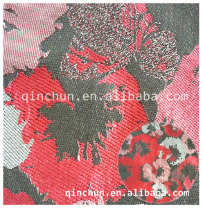 Yarn Dyed 100%Polyester Jacquard Fabric
