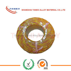 Red yellow fiberglass insulated extension wire (Type KX) pictures & photos