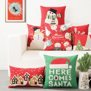 Customized Printing Christmas Holiday Cushions pictures & photos