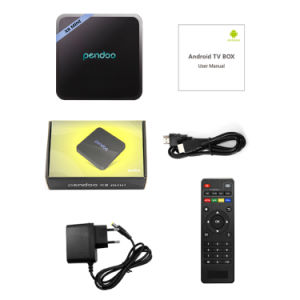 2017 Pendoo X8 Mini Amlogic S905W Cheapest 2g/16g Android TV Box with IR and Mount pictures & photos