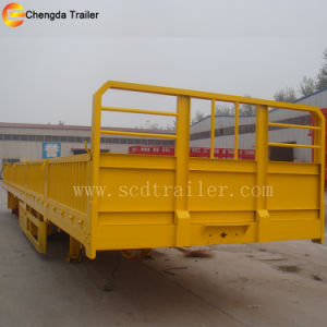 40t Bagged Cement Side Wall Cargo Trailer for Sale pictures & photos