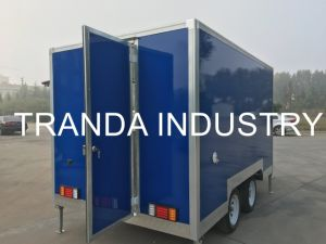 Logo Catering Booth Customzied Catering Truck Made in China Qingdao pictures & photos
