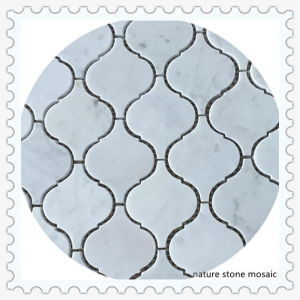 China White Bianco Carrara Marble Mosaic Tile for Wall Decoration pictures & photos