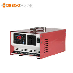 Moregosolar off Grid 600W Solar Home System Inverter Controller All in One pictures & photos
