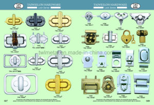 Gem Crystal Square Hardware Handbags Turn Lock/Twist Lock pictures & photos