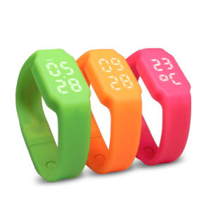 Silicone LED Watch 4GB USB Flash Drive Memory Stick Wristband pictures & photos