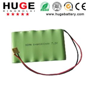 7.2V 1200mAh NiMH AA Size Ni-MH Battery (AA size) pictures & photos