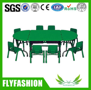 Wooden Cute Popular Children Table with Chair (KF-02) pictures & photos