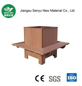 Made in China Wood Plastic Composite Flower Box pictures & photos