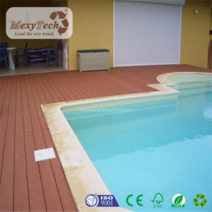 Cheap Popular Waterproof WPC Composite Indonesian Hardwood Decking pictures & photos