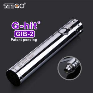 Sleek Stainless Steel G-Hit Gib-2 Battery E Cigarette Mod Battery pictures & photos