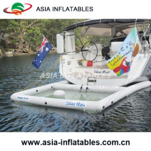 Sea Pools for Jelly Fish Protection, 10m X 10m Large Inflatable Swimming Pool, Water Polo Full Net Arena pictures & photos
