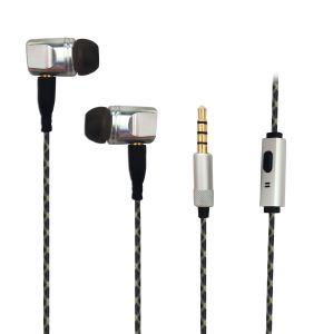 New Design TPE Wire Metal Braided Earbud Detachable Earphones pictures & photos
