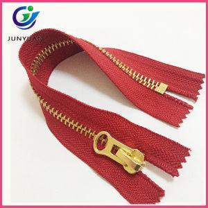 Shiny Golden Metal Zipper Close End Wholesale pictures & photos